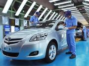 Toyota Việt Nam vẫn tiếp tục sản xuất ô tô