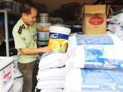 Đồng Nai: Thu giữ 1,7 tấn sơn, bột trát tường giả