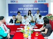 Ký kết bàn giao sáp nhập MHB Hà Tây vào BIDV