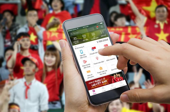 MoMo bắc nhịp cầu nối hàng triệu cổ động viên với tuyển U23 Việt Nam