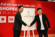Shopee hợp tác chiến lược với Xiaomi, mang trải nghiệm mua sắm mới cho khách hàng