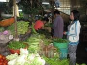 Giá thực phẩm sau tết vẫn ở mức cao