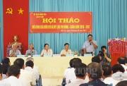 Vĩnh Long: Muốn phát triển sản xuất lúa hữu cơ cần sự chung tay của 4 nhà