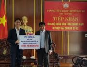 CJ ủng hộ 200 triệu đồng cho tỉnh Quảng Nam khắc phục hậu quả cơn bão số 12