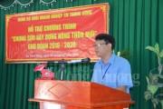 Chung sức xây dựng nông thôn mới cho người dân huyện Cần Giờ