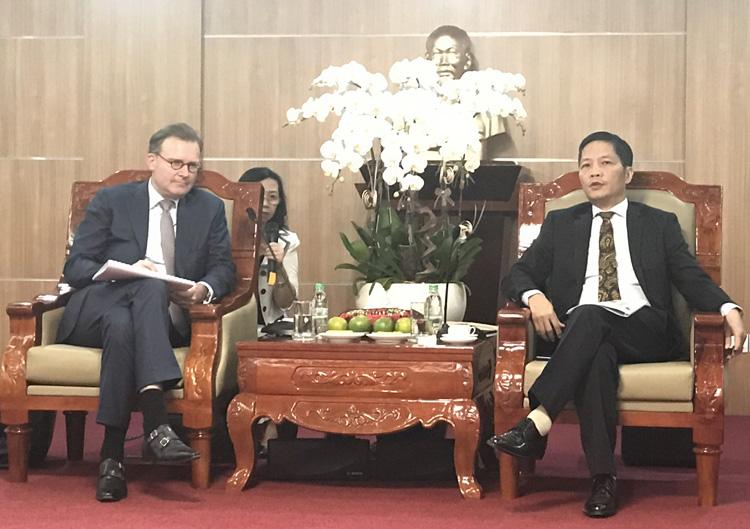 Bộ trưởng Trần Tuấn Anh: Bộ Công Thương sẽ tạo điều kiện cho các doanh nghiệp nước ngoài