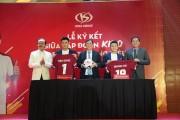Nguyễn Quang Hải, Bùi Tiến Dũng là đại sứ thương hiệu độc quyền của KIDO