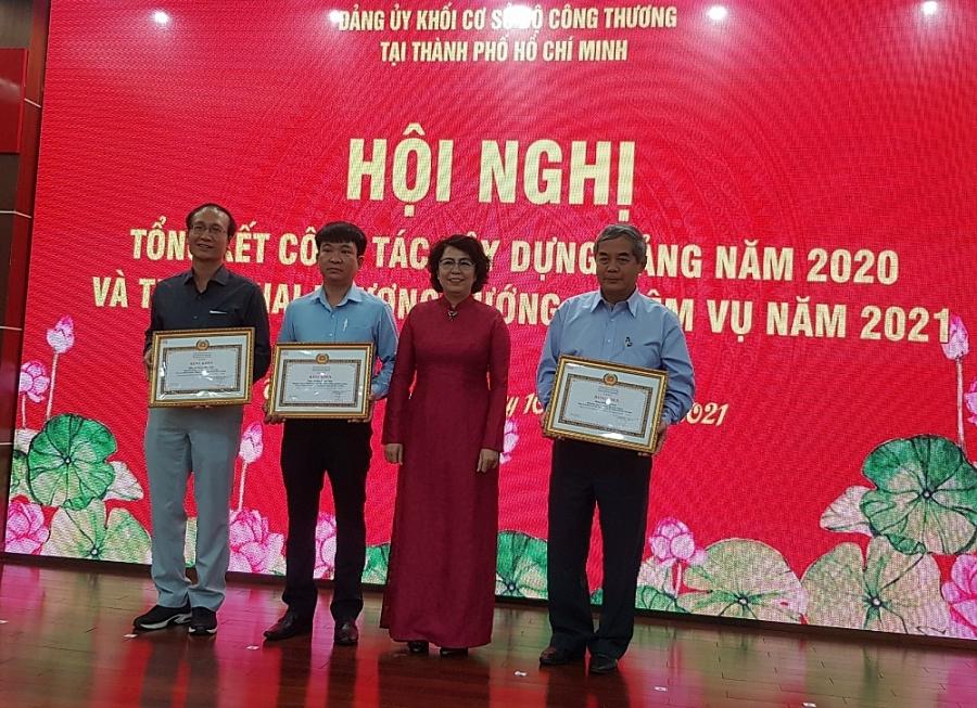 Đảng ủy Khối Cơ sở Bộ Công Thương tại TP. Hồ Chí Minh triển khai nhiệm vụ 2021