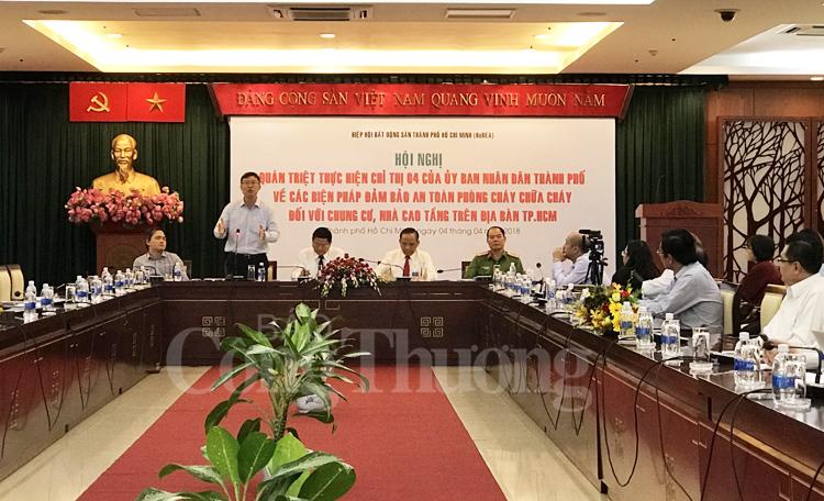 TP. Hồ Chí Minh – Nâng cao trách nhiệm PCCC cho các chủ đầu tư và người dân