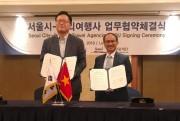 Saigontourist ký kết hợp tác phát triển thị trường du lịch Việt Nam - Hàn Quốc