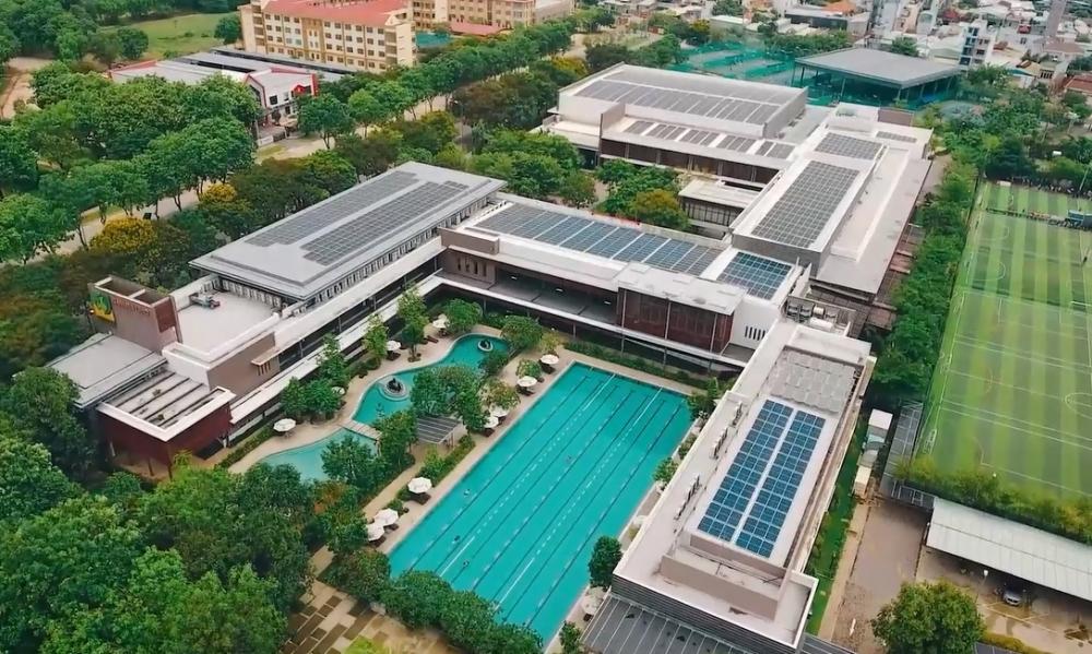 Gia tăng đầu tư điện mặt trời trong các tòa nhà cao tầng, trung tâm thương mại