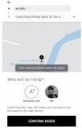 Uber ra mắt tính năng đặt xe cho người thân