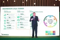 Heineken Việt Nam đầu tư hàng chục tỷ đồng thúc đẩy phát triển bền vững