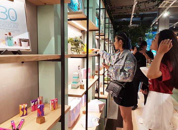 Thêm một cửa hàng mỹ phẩm Hàn Quốc gia nhập thị trường TP. Hồ Chí Minh