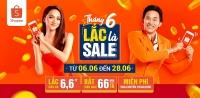 shopee lac la sale khuay dao mua he 2019