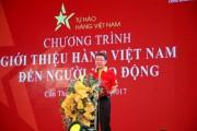 Khởi động chuỗi sự kiện Tự hào hàng Việt Nam năm 2017