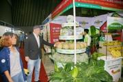 Gần 200 gian hàng tham gia Hội chợ quốc tế nông sản và thực phẩm Việt Nam