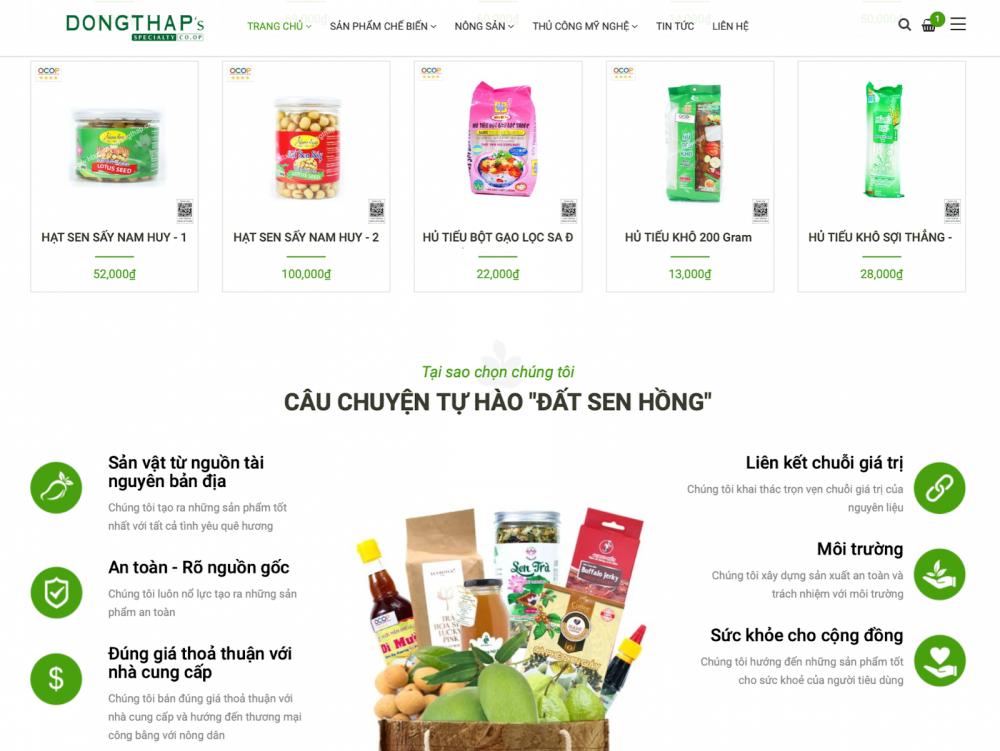 Đồng Tháp hỗ trợ doanh nghiệp tiêu thụ nông sản trên nền tảng số