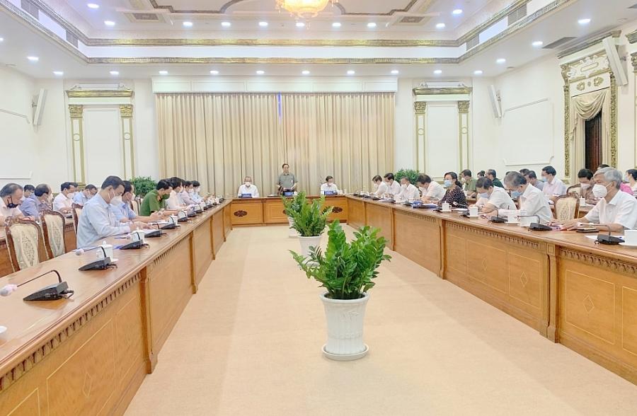 5 nhóm giải pháp chống dịch trọng tâm của TP. Hồ Chí Minh trong thời gian giãn cách