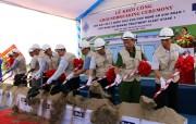 Khởi công xây dựng giai đoạn 1 Nhà máy xử lý nước thải tại VSIP Nghệ An