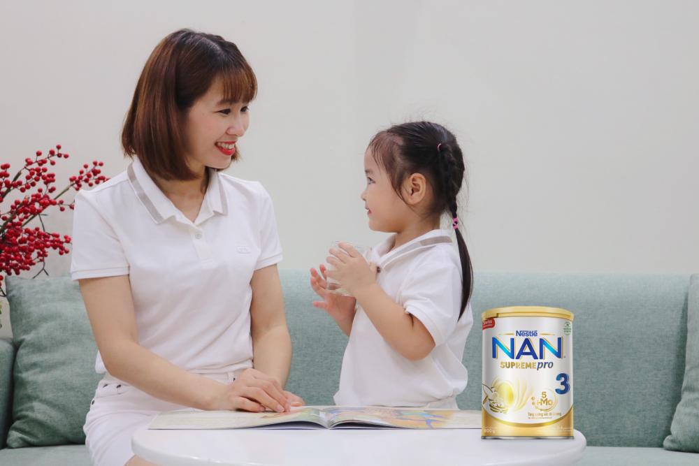 Nestlé Việt Nam ra mắt sản phẩm Nan Supreme Pro 3 bổ sung 5 loại HMOs
