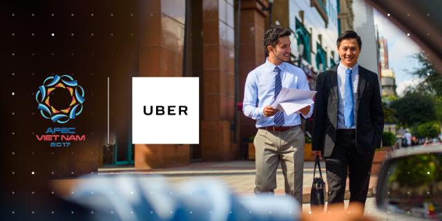 Uber tài trợ vận chuyển cho Hội nghị Bộ trưởng Doanh nghiệp nhỏ và vừa APEC 2017