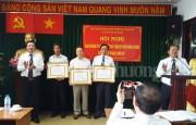 Hội nghị cán bộ Đảng ủy khối và trao tặng Huy hiệu Đảng 30 năm đợt 2