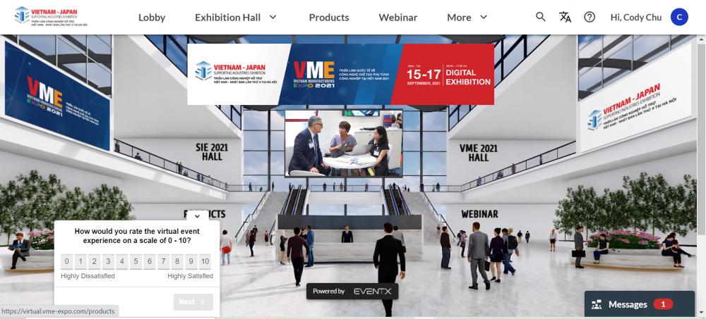 Khai mạc đồng thời 2 triển lãm trực tuyến chuyên ngành công nghiệp hỗ trợ