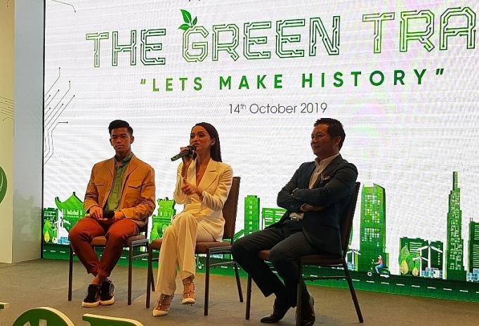 khoi dong su kien the green trail cung duong xanh