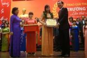 TP. Hồ Chí Minh: Trao giải thưởng Võ Trường Toản cho 33 nhà giáo xuất sắc