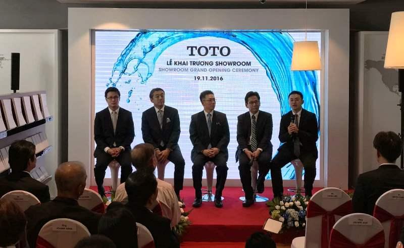 Showroom đầu tiên do TOTO điều hành đã khai trương tại TP. Hồ Chí Minh