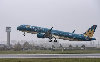 vietnam airlines nhan may bay a321neo dau tien