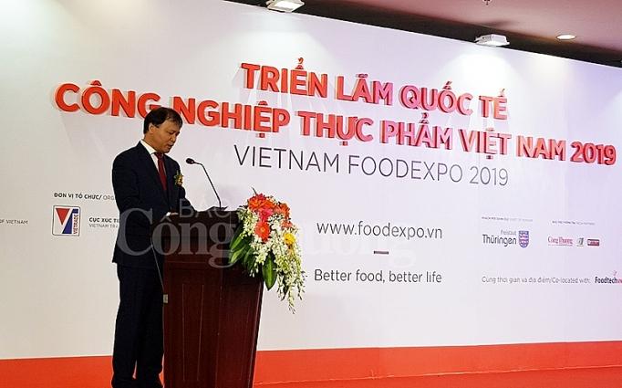 vietnam foodexpo 2019 dien dan giao thuong dau tu cho nganh cong nghiep thuc pham