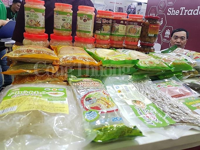 du an shetrades ho tro doanh nghiep nu viet tiep can thi truong qua vietnam foodexpo 2019