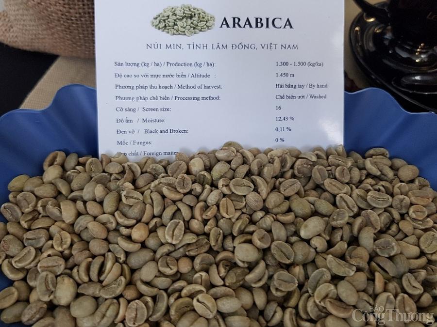 Các sản phẩm cà phê xuất đi EU hiện chủ yếu là cà phê thô.