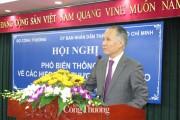 TP. Hồ Chí Minh: Phổ biến về các FTA mà Việt Nam tham gia