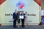 Visa Việt Nam lần thứ hai nhận giải Cống hiến vì cộng đồng