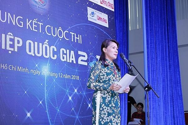 chung ket cuoc thi khoi nghiep quoc gia 2018