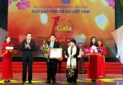 Sơn TOA Việt Nam nhận bằng khen của Bộ trưởng Bộ Lao động -Thương binh và Xã hội