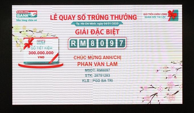 kienlongbank chuc mung cac khach hang gui tiet kiem trung 313 giai thuong