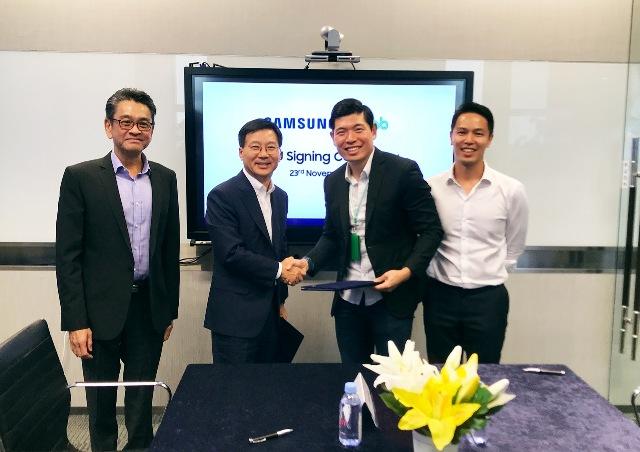 Grab và Samsung hợp tác thúc đẩy phát triển kỹ thuật số ở Đông Nam Á