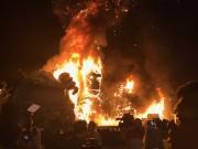 """Sự cố gây cháy lớn tại lễ ra mắt phim """"Kong: Skull Island"""" ở SC VivoCity"""