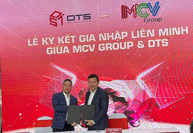 MCV Group và Liên minh DTS ký kết hợp tác chuyển đổi số