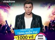 VinaPhone dành tặng 1.000 vé xem show Đại nhạc hội Hardwell