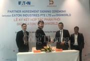 Tập đoàn Quản lý năng lượng Eaton ký kết hợp tác phân phối với Digiworld