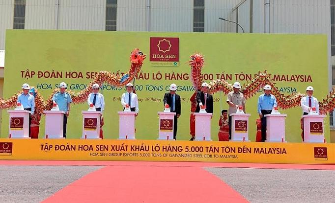 hoa sen tiep tuc xuat khau lo hang 5000 tan ton thanh pham den malaysia