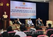 Thúc đẩy doanh nghiệp Việt Nam xuất khẩu trực tiếp vào mạng phân phối nước ngoài