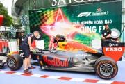 Lần đầu tiên người hâm mộ Việt Nam trải nghiệm đường đua xe công thức 1