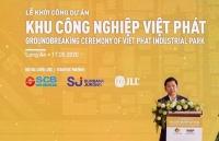 scb tai tro von cho du an khu cong nghiep viet phat tai long an