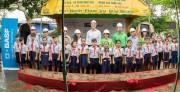 BASF giúp cải thiện môi trường học tập tại Hậu Giang